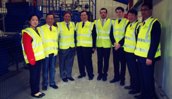 China Salt Federation Visit Tn