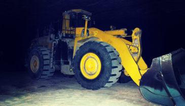 Winsford Salt Mine Excovator