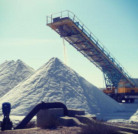 Sardinian White Salt Conveyor Belt