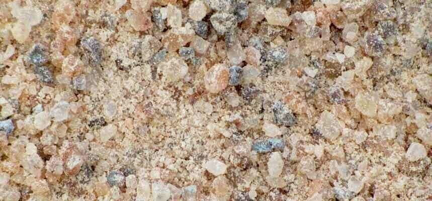 Rock salt granules sm