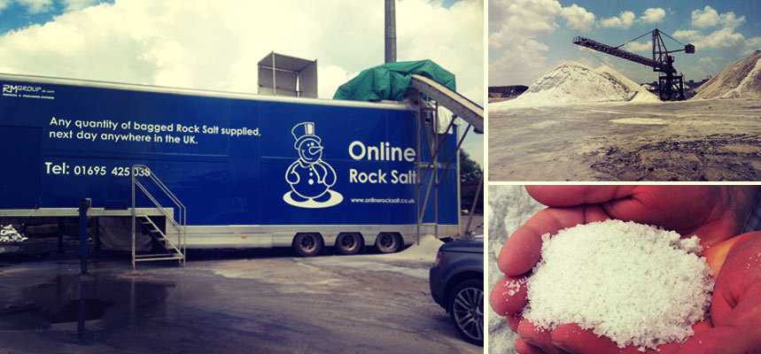 The Process Involved With Packing White Salt