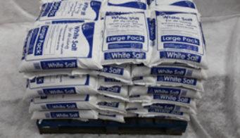 Pallet Of 42 White Salt Large Packs Shot 2
