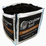 Garden Compost Bulk Bag With Logo