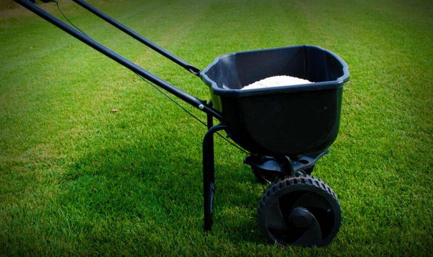 Fertilising your lawn